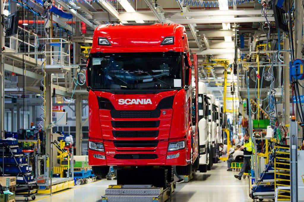 Scaniafabriek Zwolle