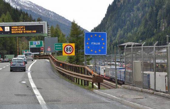 italiaanse grensovergang