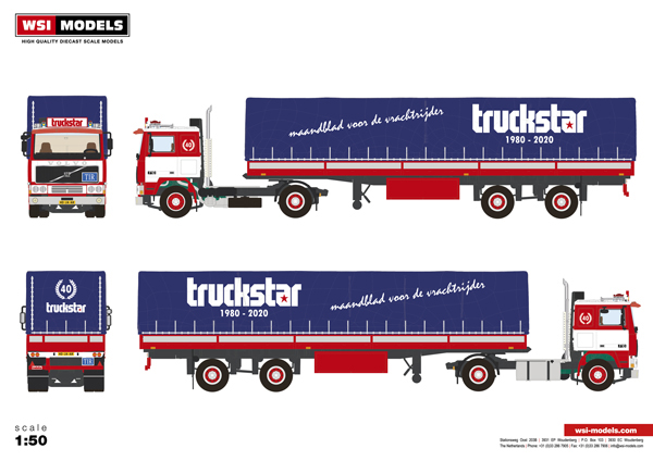 Truckstar Jubileummodel 2020