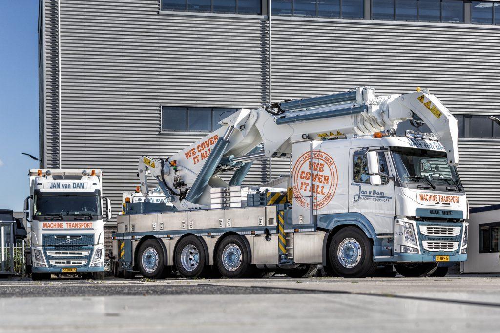 Jan van Dam Machine Transport