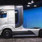Mercedes-Benz waterstoftruck