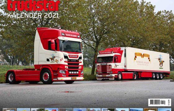 Truckstar jaarkalender 2021