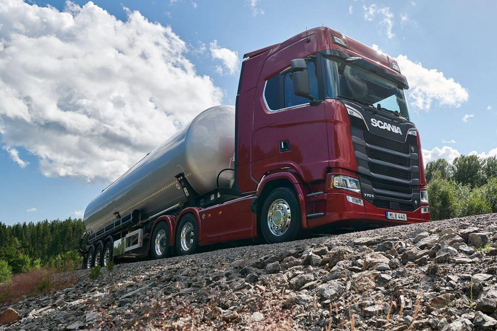 Scania is nieuwe 'king of the road' dankzij V8 met 770 pk - Truckstar
