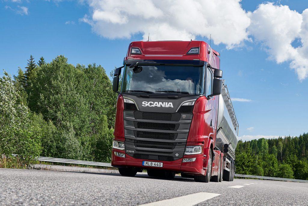 Scania V8 770