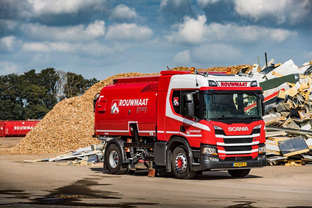 Rouwmaat Scania