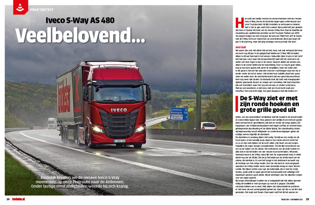 praltijktest Iveco S-Way