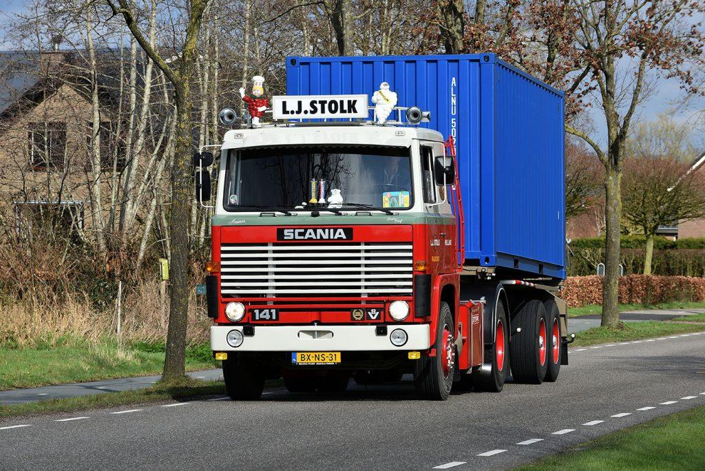 Scania LB141S V8