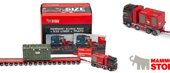 Win een Mammoet Scania schaalmodel