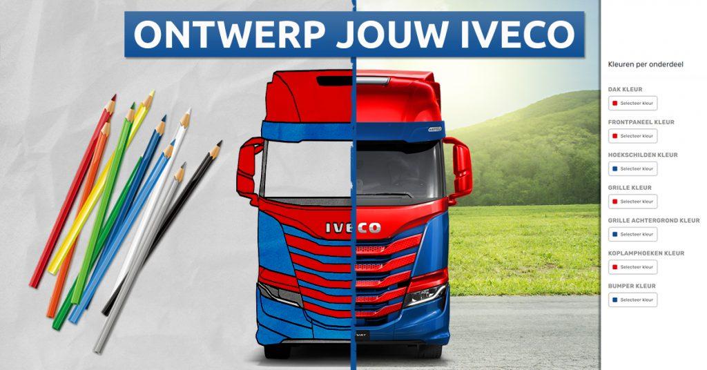 Ontwerp je eigen Iveco S-Way