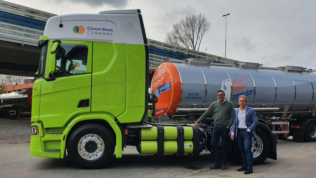 Scania bio-CNG