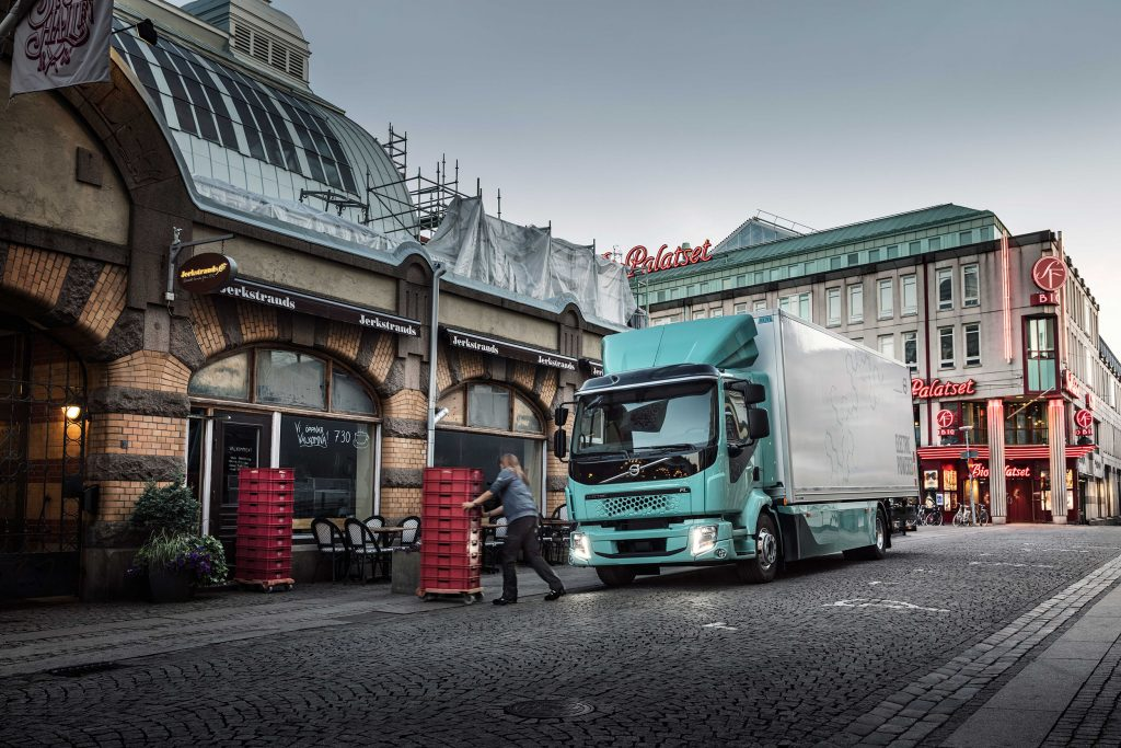 elektrische trucks