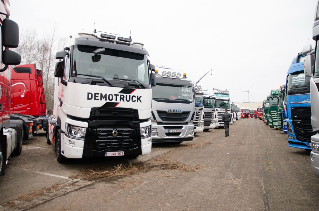 Warmste truckrun België