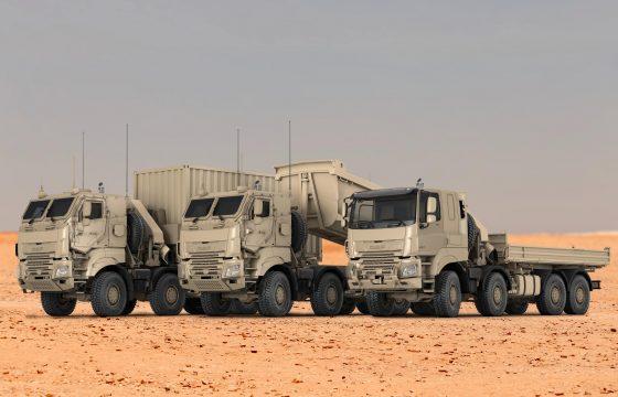 CF Military trucks