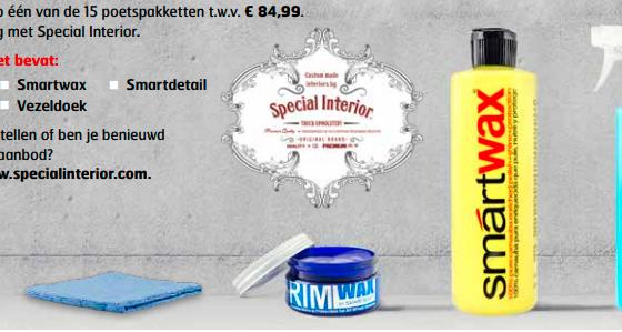 Poetspakket special interior winactie truckstar
