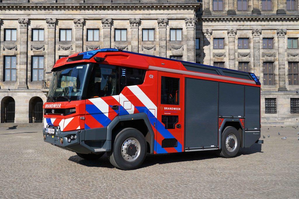 Elektrische tankautospuit