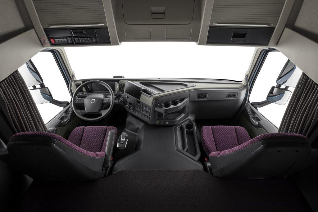 Interior del Volvo FM