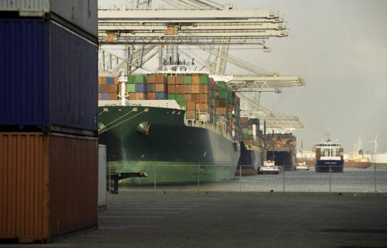 goederenvervoer weg spoor water
