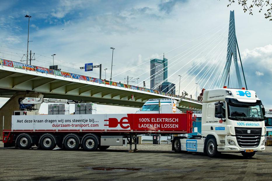 50 tons elektrische trekker