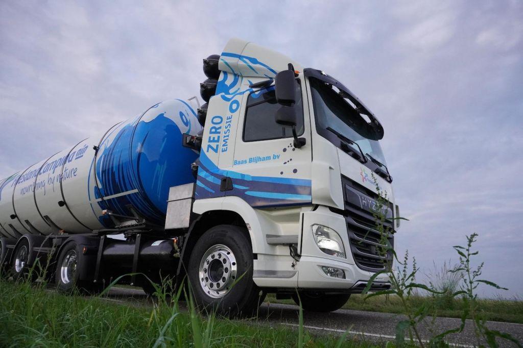 waterstof melkwagen
