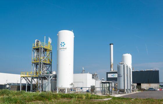 bio-LNG-installatie