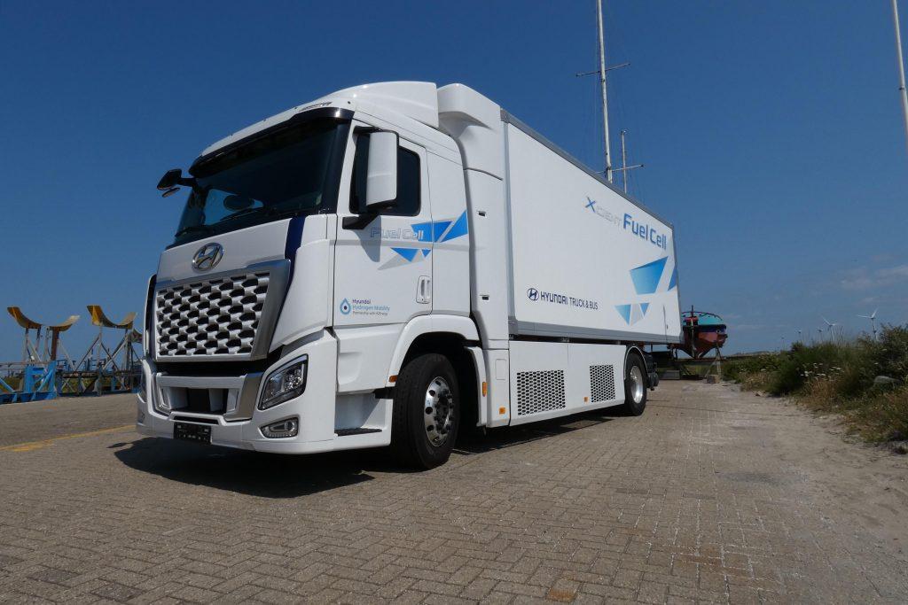 Hyundai-waterstoftruck